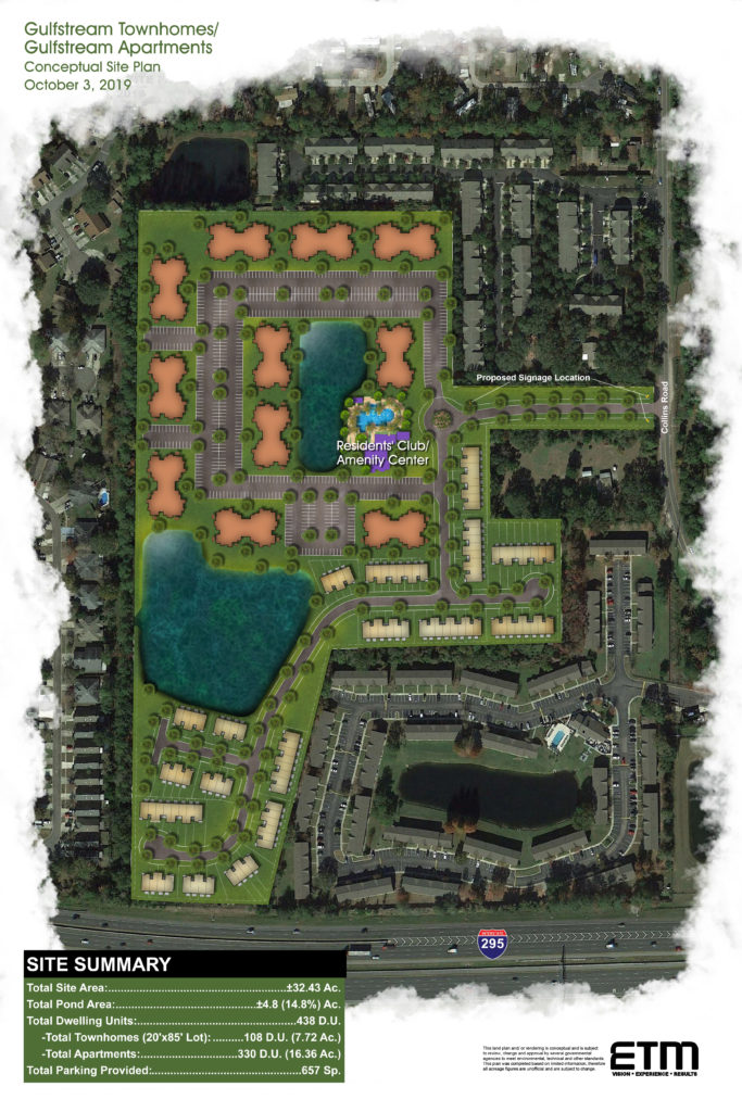 Jacksonville Gulfstream Apartments-Townhomes
